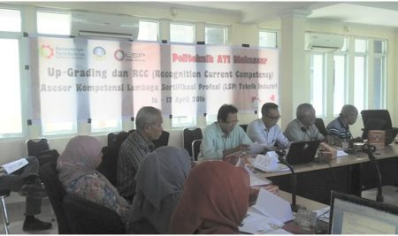 Release Berita Kegiatan RCC LSP Teknik Industri Politeknik ATI Makassar