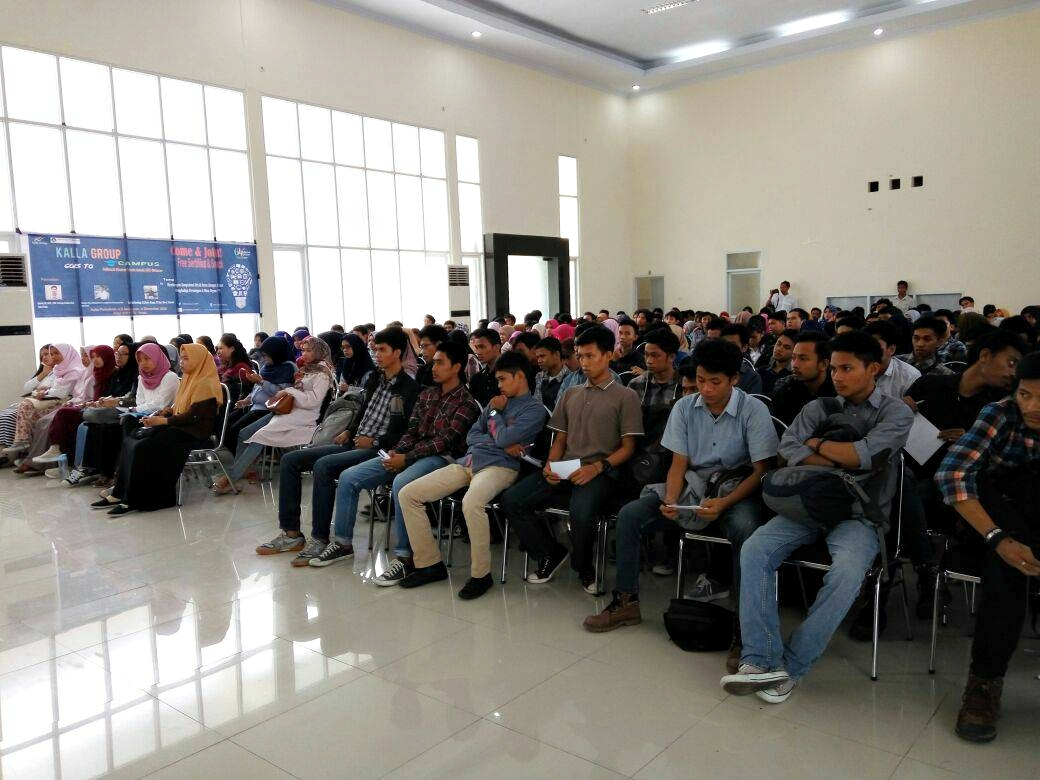 Kalla Group Goes To Campus Politeknik ATI Makassar
