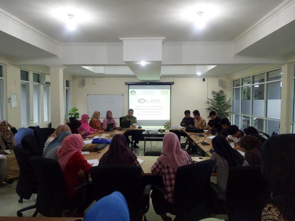 Sosialisasi dan Awarness Pelaksanaan Uji Kompetensi Politeknik ATI Makassar