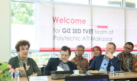 """Workshop of Teaching Factory"" Triangular Cooperation Between Indonesia-Myanmar-Germany on TVET"