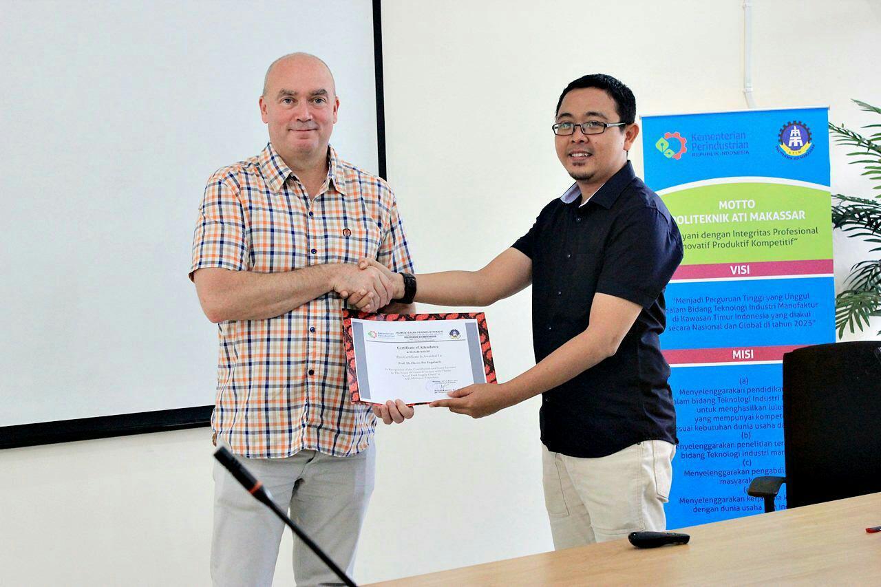 Kuliah Tamu Supply Chain Management dengan Tema Local Food Network