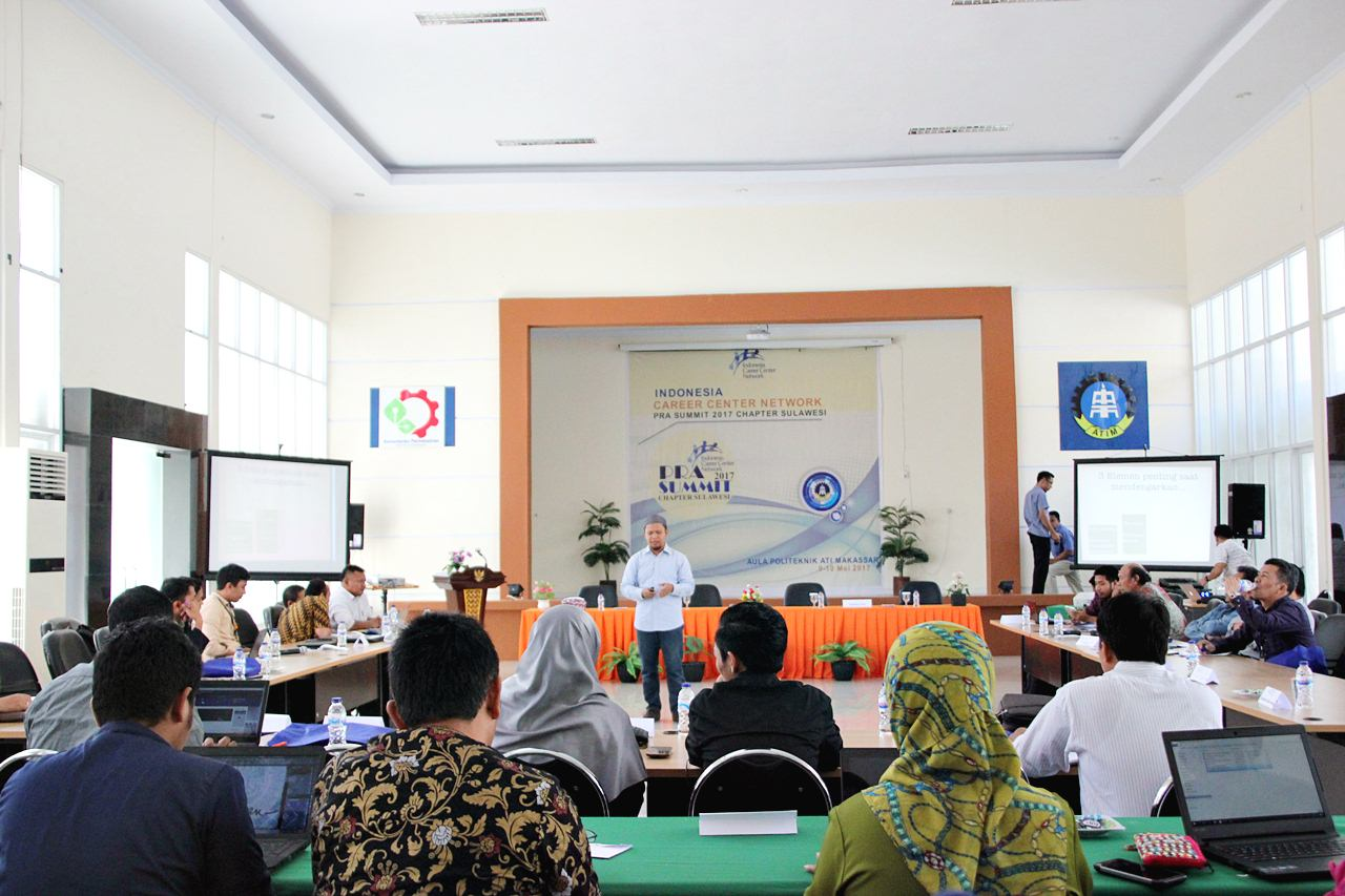 Politeknik ATI Makassar Tuan Rumah Pra Summit ICCN Chapter Sulawesi