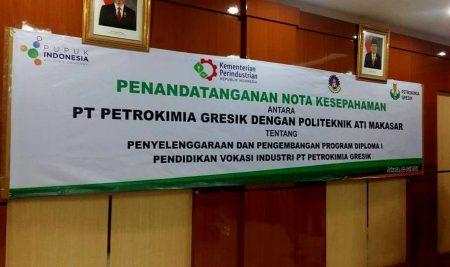 MOU Politeknik ATI Makassar dan Petrokimia Gresik