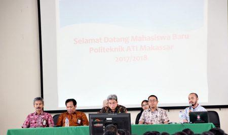 Pertemuan Orang Tua Mahasiswa Baru & Pimpinan Politeknik ATI Makassar