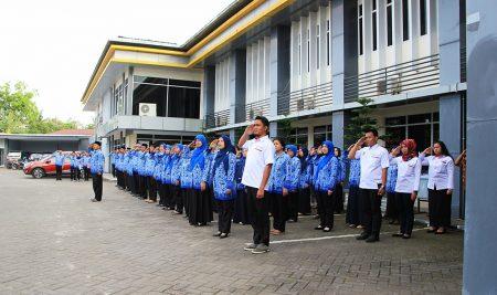 Upacara Peringatan HUT-RI Ke 72 di Politeknik ATI Makassar