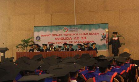 Politeknik ATI Makassar Kukuhkan 498 Alumni Baru, Sebagian Besar Lulusan Telah Bekerja