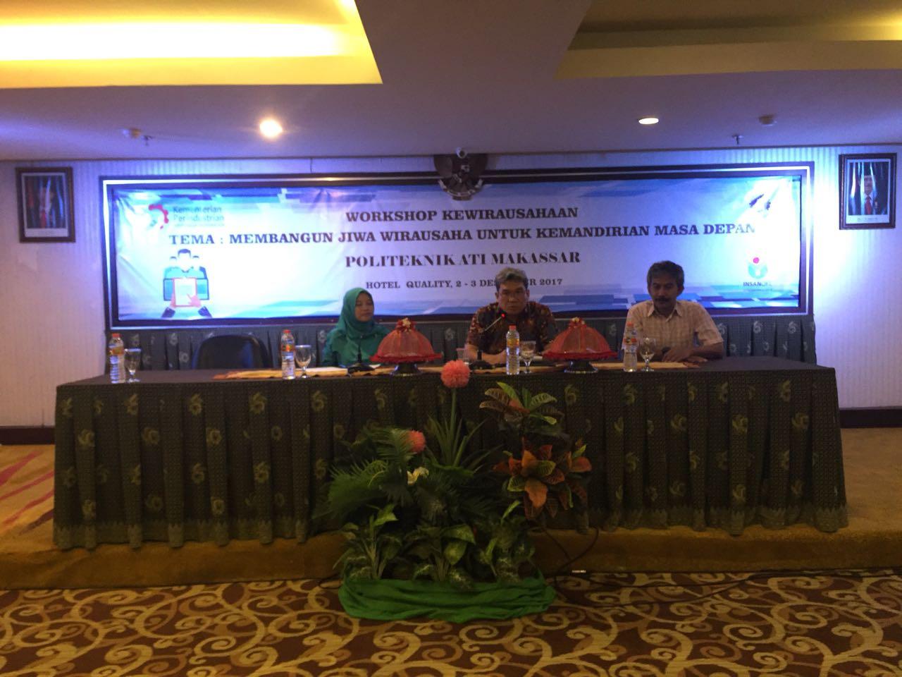 Tumbuhkan Jiwa Wirausaha Mahasiswa, Politeknik Ati Gelar Workshop