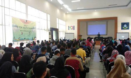 Ribuan Pelajar SMA se-Kota Makassar Hadiri IFOS 2018