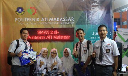 Politeknik ATI Makassar berpartisipasi dalam Pameran Pendidikan 2018