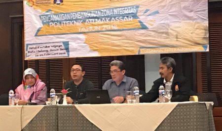 Pencanangan Pembangunan Zona Integritas Politeknik ATI Makassar