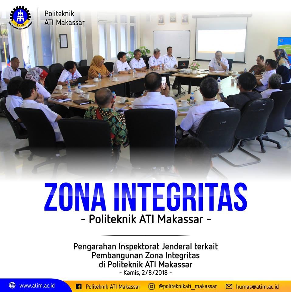 Pengarahan Inspektorat Jenderal Terkait Pembangunan Zona Integritas