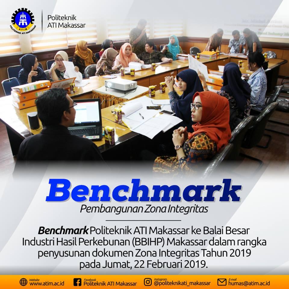 Benchmark Pembangunan Zona Integritas