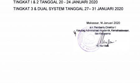 Pengumuman UAS 2019-2020