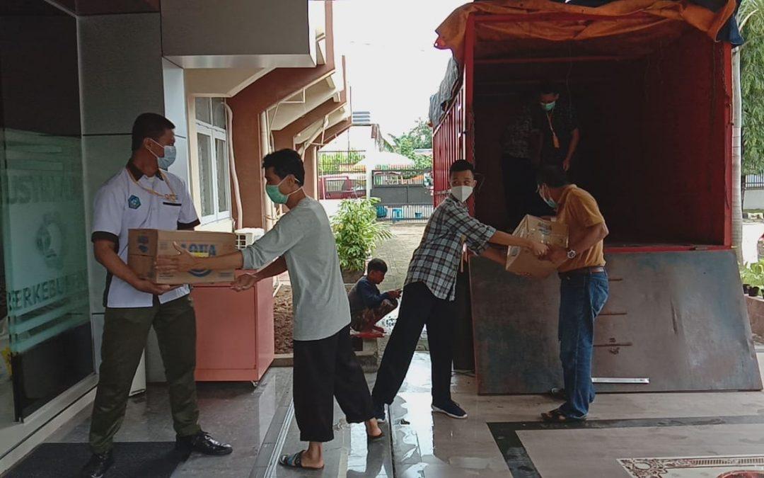 Satker Kemenperin di Sulsel Bawa 6 Truk Bantuan untuk Korban Gempa Sulbar