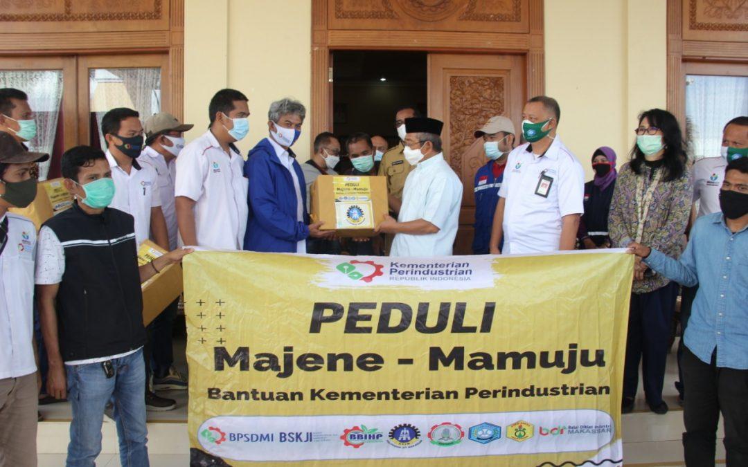 Politeknik ATI Makassar Ikut Salurkan Bantuan Korban Gempa Sulbar ke Majene dan Mamuju