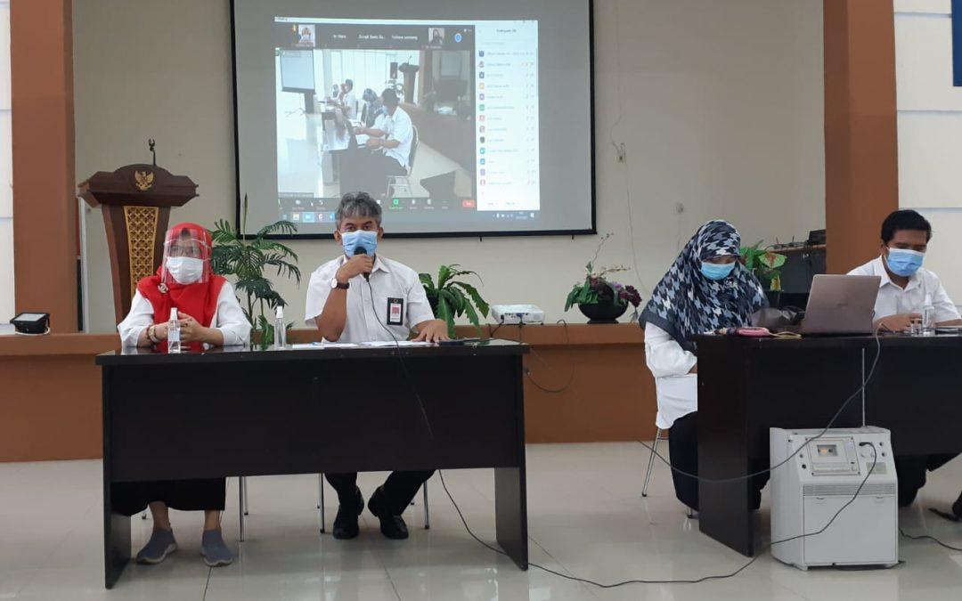 Politeknik ATI Makassar Gelar Rapat Penyusunan SKP dan Perjanjian Kinerja 2021