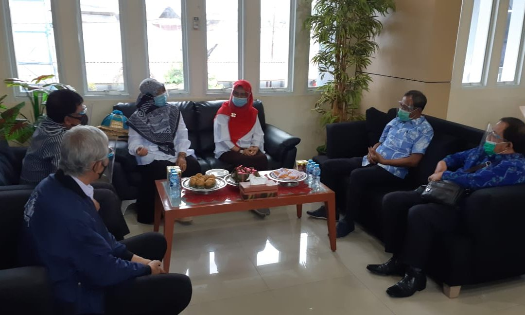 Jajaki Kerjasama, Wali Kota Palu Kunjungi Politeknik ATI Makassar