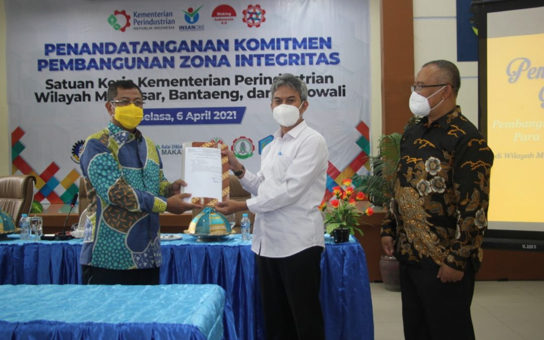 Kawal Pembangunan Zona Integritas, Irjen Kemenperin Kunjungi Poltek ATIM