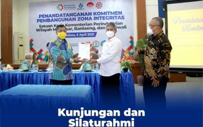Kunjungan Inspektorat Jenderal dalam Pembinaan Pembangunan Zona Integritas di Poltek ATIM