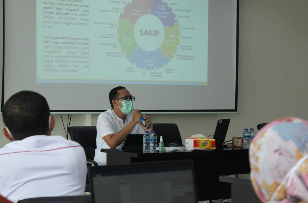 Biro Perencanaan Bina Satker Kemenperin Wilayah Sulawesi Terkait Implementasi SAKIP di Poltek ATIM