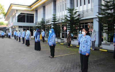 Politeknik ATI Makassar Rutinkan Apel Pagi Bagi Pegawai