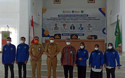 BPSDMI-Poltek ATIM Siap Cetak SDM Kompeten Teknologi Induatri Agro di Barru